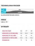 Narty H X-RACE Jr GS Blue/BK/YE 131+ j L10